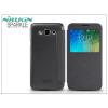 Nillkin Samsung SM-E500F Galaxy E5 oldalra nyíló flipes tok - Nillkin Sparkle - fekete