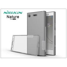 Nillkin Sony Xperia XZ1 Compact (G8441) szilikon hátlap - Nillkin Nature - szürke tok és táska