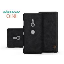Nillkin Sony Xperia XZ3 (H9436) oldalra nyíló flipes tok - Nillkin Qin - fekete tok és táska