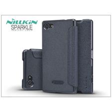 Nillkin Sony Xperia Z5 Compact (E5803) oldalra nyíló flipes tok - Nillkin Sparkle - fekete tok és táska