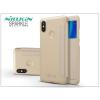 Nillkin Xiaomi Mi A2 oldalra nyíló flipes tok - Nillkin Sparkle - gold
