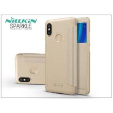 Nillkin Xiaomi Mi A2 oldalra nyíló flipes tok - Nillkin Sparkle - gold tok és táska
