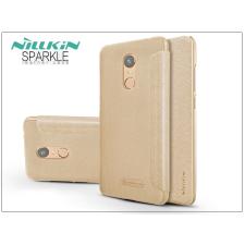 Nillkin Xiaomi Redmi 5 Plus oldalra nyíló flipes tok - Nillkin Sparkle - gold tok és táska