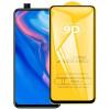 Nincs info Huawei P Smart Z kijelzővédő edzett üvegfólia (9H, 9D, fekete)