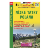 Nízke Tatry, Pol'ana / Alacsony-Tátra–Polyána turista- és kerékpáros térkép / Shocart