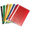 No-name Gyorsfűző lefűzhető műanyag A4 PIROS 25db/csomag
