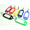 No-name Kulcsjelölő műanyag ovális/írható FEKETE