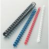 No-name Műanyag spirál 12mm FEKETE 100db/dob