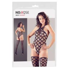 NO:XQSE NO:XQSE - hullámos body és combfix szett (fekete)