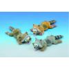Nobby Kutyajáték gumiból Mosómedve 25cm