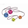 Nobby kutyajáték habszivacs labda kötéllel 9 cm