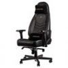NOBLE CHAIRS Noblechairs ICON Bőr Gamer szék - Fekete/Fekete