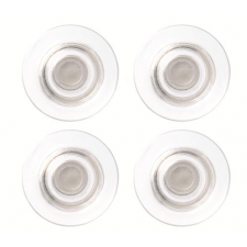 NOBO Erős mágnes, 4 db,  üvegtáblákhoz, NOBO, átlátszó ajándéktárgy