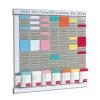 """NOBO T-kártya tervező kit,  """"Office planner"""""""