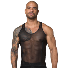 Noir Handmade Net Tanktop férfi póló