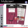 Nokia 3, Kijelzővédő fólia (az íves részre NEM hajlik rá!), MyScreen Protector, Clear Prémium