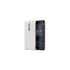 Nokia 5 gyári carbon hátlap tok, fehér, CC-803 tok és táska