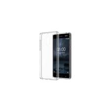 Nokia 6 gyári hybrid hátlap tok, átlátszó, CC-703 tok és táska