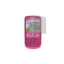 Nokia C3 kijelző védőfólia mobiltelefon előlap