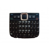 Nokia E63 billentyűzet bordó qwerty (swap)