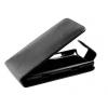 Nokia Lumia 620, Lenyitható bőrtok, ProFlip, felfelé nyíló - kinyitható, fekete