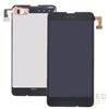 Nokia Lumia 630, 630DS, 635 kompatibilis LCD modul kerettel, OEM jellegű
