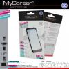 Nokia Lumia 830, Kijelzővédő fólia, MyScreen Protector, Clear Prémium / Matt, ujjlenyomatmentes, 2 db / csomag