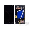 Nokia Lumia 930 kompatibilis LCD modul, OEM jellegű, fekete