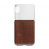 Nomad Clear Case iPhone X-hez