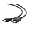Noname Displayport M to HDMI M 1m Black