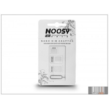 Noosy Nano és Micro SIM-kártya adapter (3 in 1) kiszedő szerszámmal tok és táska