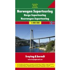 Norvégia Supertouring atlasz - f&b NTOUR SP térkép