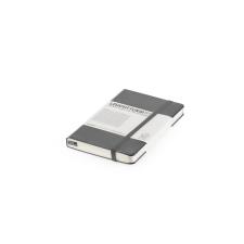 Notesz A6 fekete pocket négyzetrácsos pocket LEUCHTTURM jegyzettömb