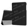 Notesz / mappa tok - FEKETE - oldalra nyíló flip cover, TRIFOLD asztali tartó funkciós, mágneses záródás - ASUS Zenpad Z10 9.7 (ZT500KL)