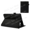 Notesz tok / mappa tok - asztali tartó funkciós, oldalra nyíló, rejtett mágneses záródás - FEKETE - Lenovo YOGA Tablet 2 8.0