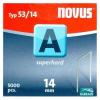 Novus tűzőkapocs A 11,3x0,7mm 14mm 5000db-os szuperkemény