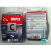 Novus tűzőkapocs C 6,1x1,1mm 26mm 1100db-os
