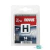 Novus tűzőkapocs H 10,6x0,7 14mm 1000db-os szuper kemény