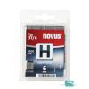 Novus tűzőkapocs H 10,6x0,7 6mm 2000db-os szuper kemény