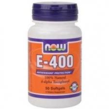 Now E-400 kapszula - 50db vitamin és táplálékkiegészítő