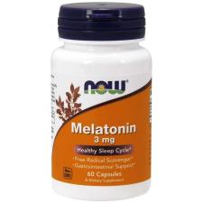 Now Foods NOW Melatonin 3mg 60db vitamin és táplálékkiegészítő