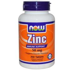 Now Foods Zinc 50mg 100 tabletta táplálékkiegészítő