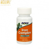 Now iron complex vegetarian 100 tablets