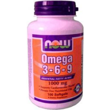 Now Omega 3-6-9 kapszula 100db vitamin