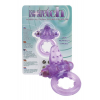 Nubby Clitoral Probe Cockring - Lavender