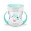 Nuk | NUK | Bájos itató pohár Mini Magic NUK 360° fedéllel türkiz | Türkiz |