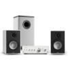 Numan Drive 802, sztereo készlet, erősítő, polc hangfal, subwoofer, BT 5.0, fehér