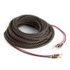 Numan minőségi hangfalkábel, OFC, réz, 2 x 3,5 mm², 10 m, textilborítás, standardizált