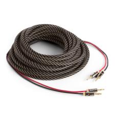 Numan minőségi hangfalkábel, OFC, réz, 2 x 3,5 mm², 10 m, textilborítás, standardizált hangszer kellék