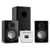 Numan Unison Reference 802 Edition, sztereó rendszer, erősítő, hangszórók, fekete/fehér
